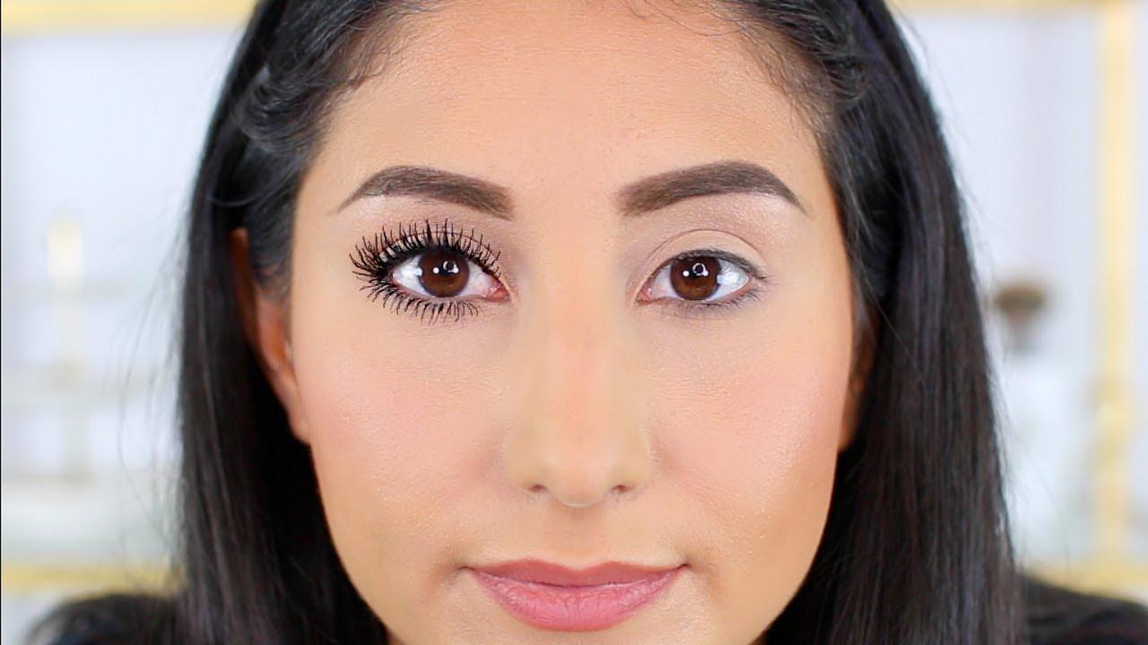 3b35ea89eef How to Make Lashes Look Longer!   Drugstore Mascara - YouTube