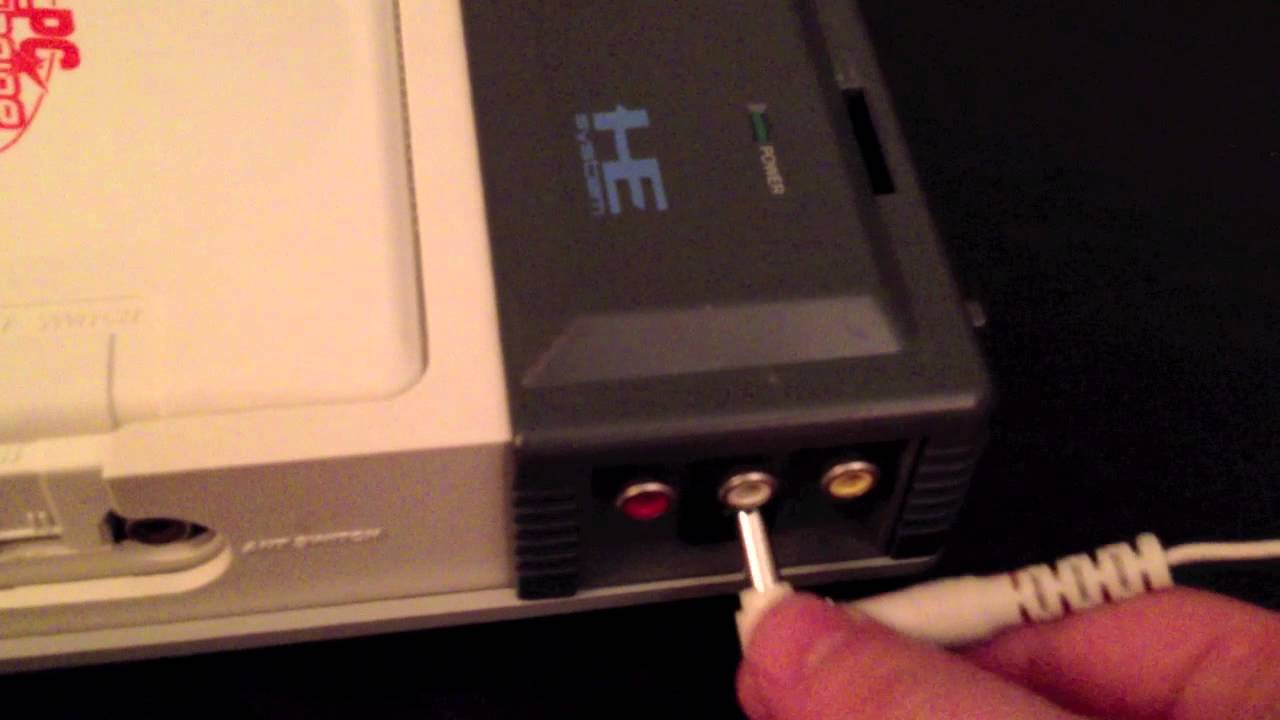 PC Engine CD-ROM Power Adapter Overview