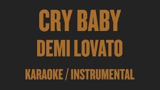 Скачать Demi Lovato Cry Baby Karaoke Instrumental