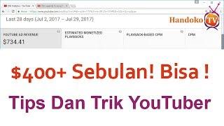 Jutaan Rupiah Perbulan Di YouTube ( Cara Ampuh Setting Iklan Di Video ) + Kerja Freelance Gaji Besar