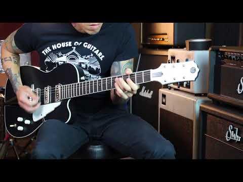 Daddy Mojo Beekay Tuxedo guitar demo by RJ Ronquillo