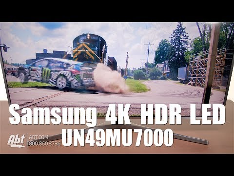 First Look: Samsung UN49MU7000 4K HDR LED MU7000 Series