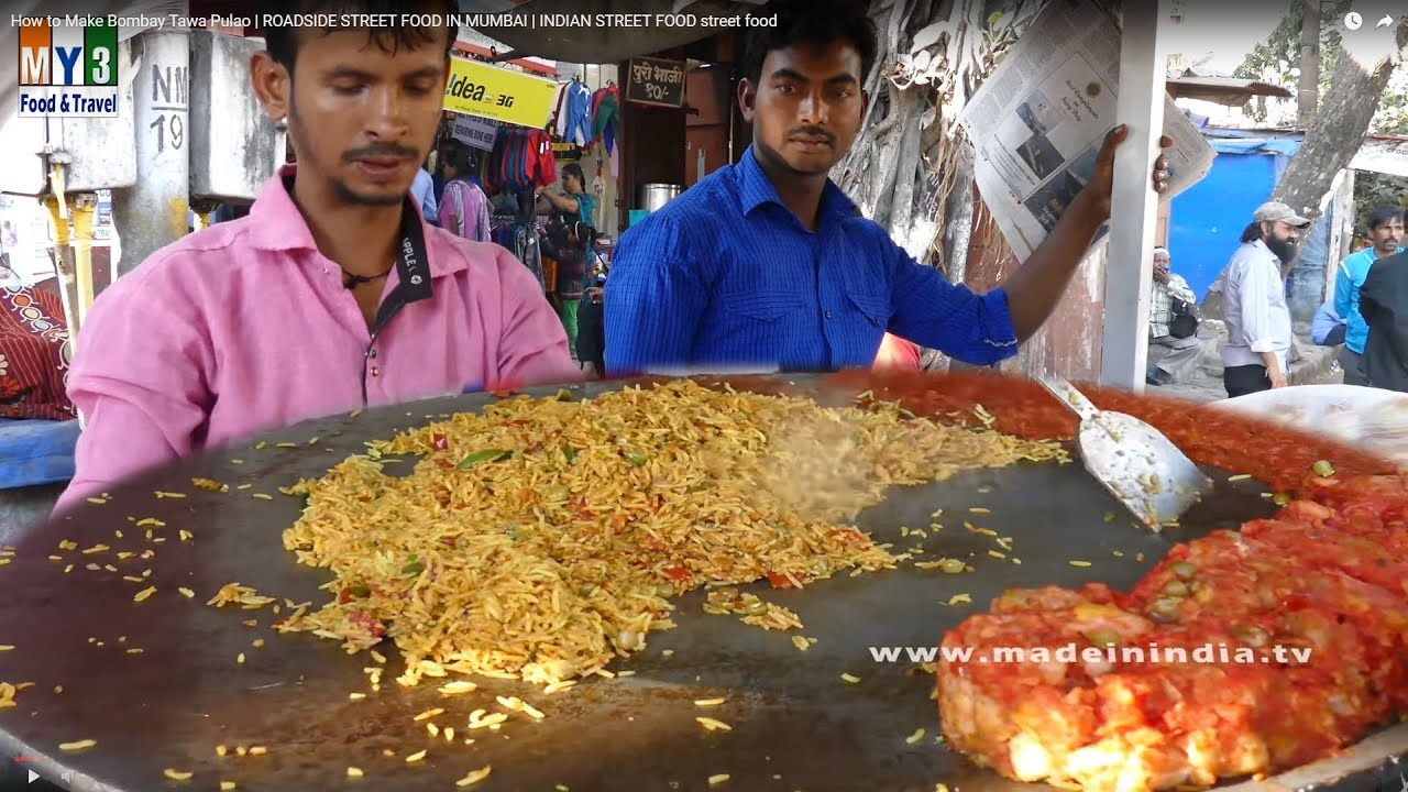 How to make bombay tawa pulao roadside street food in mumbai its youtube uninterrupted forumfinder Gallery