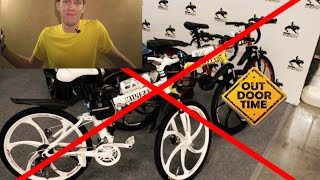 Велосипед на литых колесах military (реальность)(Реклама продукции какого-либо производителя на канале Outdoor Time предполагает только честный и непредвзятый..., 2015-04-06T22:18:09.000Z)