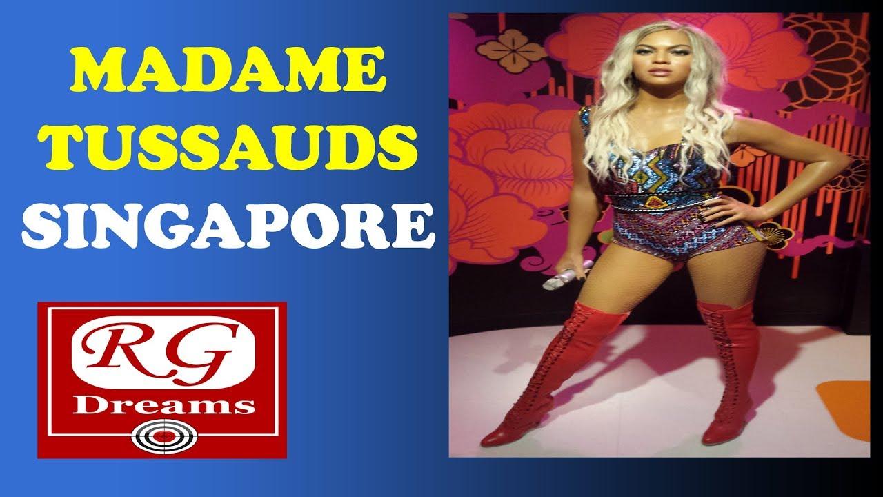 Madame Tussauds Singapore - YouTube