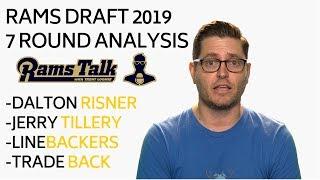 Rams 2019 NFL Draft  - 7 Round Analysis | LA Rams Talk