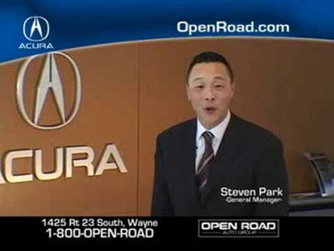 Open Road Acura >> Open Road Acura Wayne Nj Tv Commercial