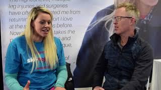 Chemmy Alcott talks to Ski Mojo, October 2018