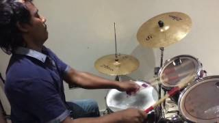 Download Hindi Video Songs - Fire Drum Solo by Drummer Sridhar 2016