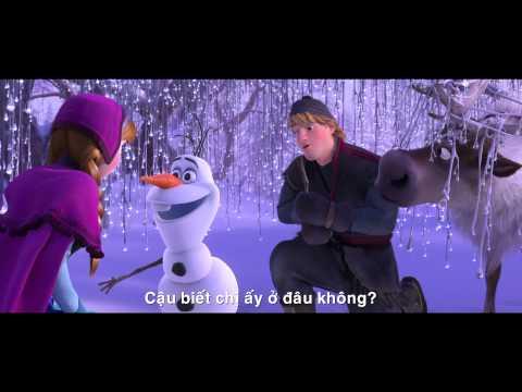 Frozen - Nữ Hoàng Băng Giá (3D) - Phim Clip - Olaf thích ôm ấm áp