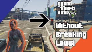 I Played GTA V Without Breaking Any Laws!