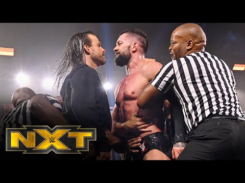 Finn Bálor and Adam Cole's heated confrontation: WWE Network Exclusive, March 3, 2021