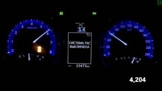 Toyota Camry 2.0 - Acceleration 0-100 km/h (Racelogic)