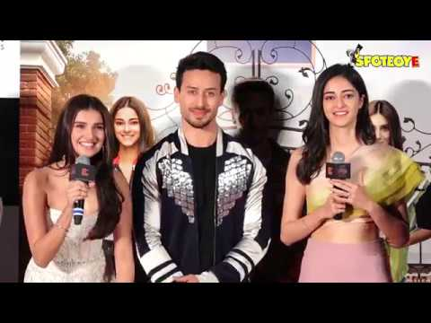SOTY 2 TRAILER LAUNCH | Karan Johar, Tiger Shroff, Tara Sutaria & Ananya Panday Launch Movie Trailer