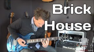 How to play Brick House by The Commodores - Guitar Lesson
