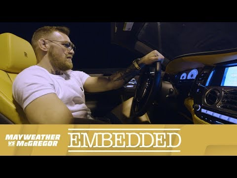 Watch Mayweather vs McGregor Embedded Vlog Series episode 1