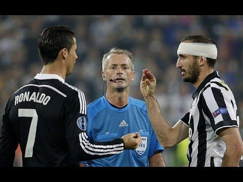 Giorgio Chiellini vs Cristiano Ronaldo THUG LIFE  ( Champions League Juventus - Real Madrid 2-1 )