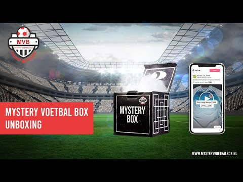 Mystery Voetbal Box TikTok Unboxing #unboxing #mysterybox