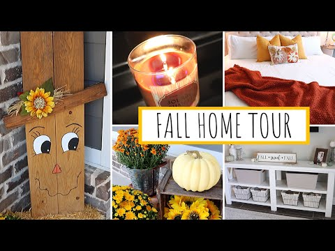 *NEW* FALL HOME TOUR 2019 | FARMHOUSE FALL DECOR | Jessica Elle