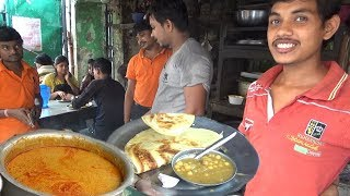 Non Veg (Egg/Chicken/Fish Curry) & Veg (Potato Fry/Ghugni/Aloo Dum) with Paratha | Best Street Food
