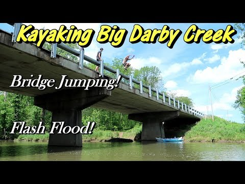 Stranded!  Kayaking Adventure On Big Darby Creek