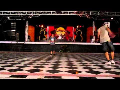Jogja Shuffle Community first performance in purawisata JOGJA.wmv