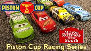 Piston Cup Racing Series PCRS | Race 2/7 Motor Speedway Of The South Stop Motion