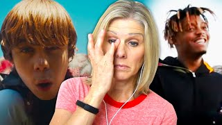 Mom Reacts to The Kid LAROI, Juice WRLD - GO (Official Video)