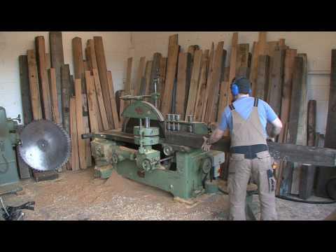 Wadkin Ripsaw restored by Indigo Furniture