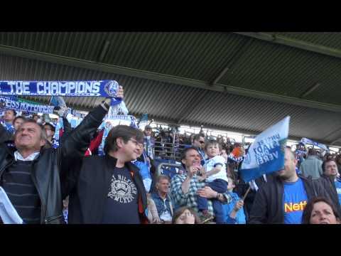 "VfL Bochum  Fans singen ""Bochum-Hymne"". Gänsehaut"