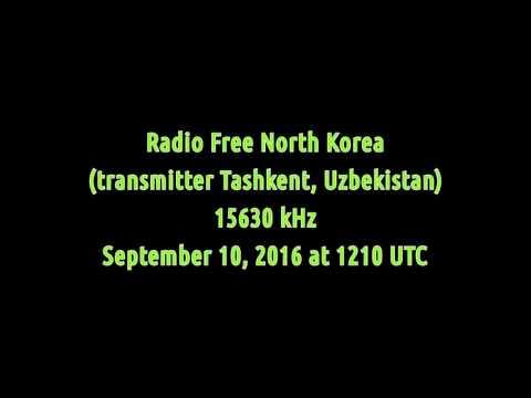 Radio Free North Korea (transmitter Tashkent, Uzbekistan) - 15630 kHz