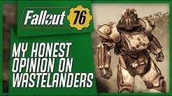 Fallout 76 Wastelanders - My Honest First Impressions