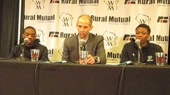 WIAA state boys basketball: Whitefish Bay Dominican news conference 03/17/16
