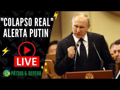 Putin e Líderes Mundiais Avisam Para Gravidade do Momento