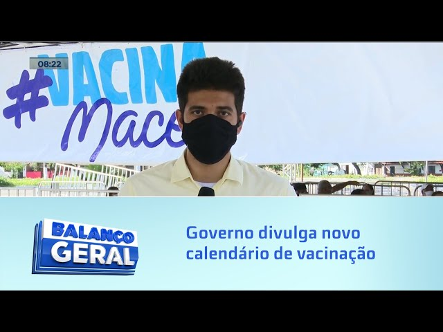 Governo divulga novo calendário de vacinação para integrantes da segurança