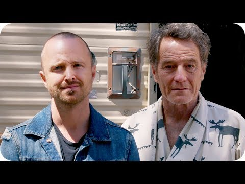 Aaron Paul Discovers Bryan Cranston Living in Breaking Bad RV  Omaze