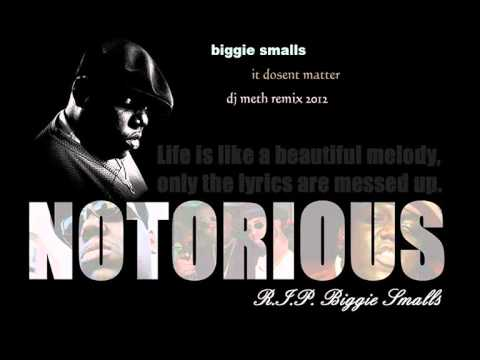 Biggie Smalls It Dosent Matter NEW (DJMETH REMIX 2012)