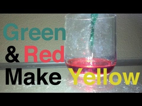 Green and Red make Yellow - YouTube