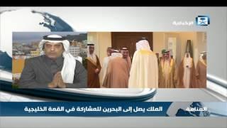 ناصر القرعاوي: منطقة الخليج الأكثر استقراراً خصوصاً في العقود الثلاثة الأخيرة رغم الظروف المحيطة بها