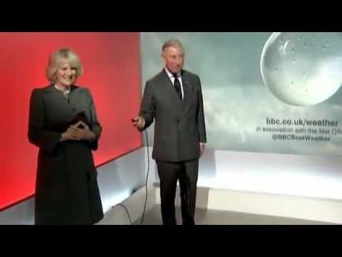 """Prince Charles & Camilla Do the Weather: """"Who the Hell Wrote This Script"""" (FULL)"""