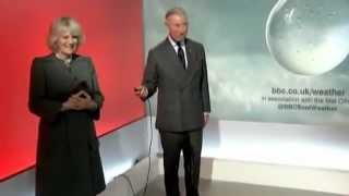 "Prince Charles & Camilla Do the Weather: ""Who the Hell Wrote This Script"" (FULL)"