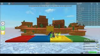 playing epic mini games (roblox btw they r some rude ppl)