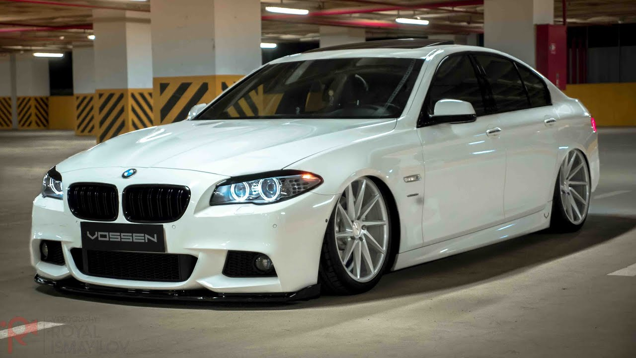 bmw f10 vossen 20 cvt concave wheels accuair youtube. Black Bedroom Furniture Sets. Home Design Ideas
