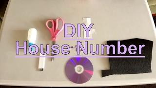 DIY House Number