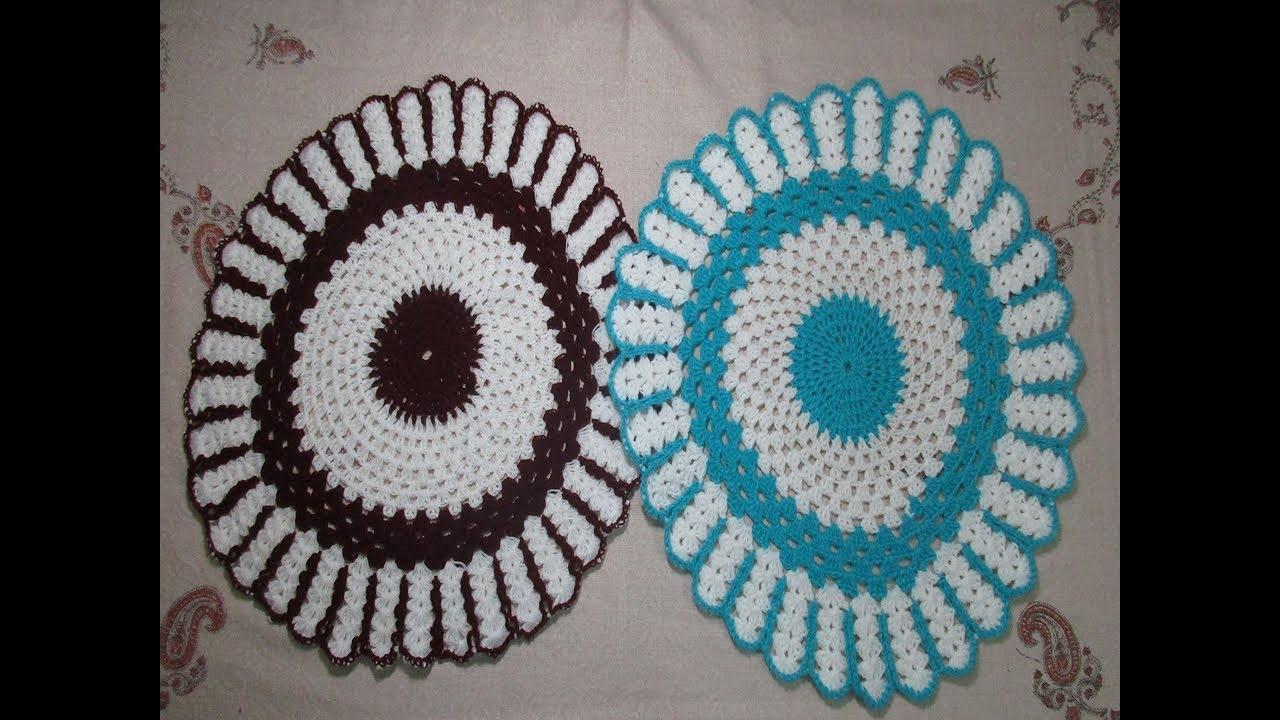 Crocheted Table Cloth Eskayalitim