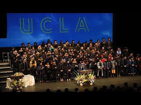 UCLA School of Nursing Commencement 2018