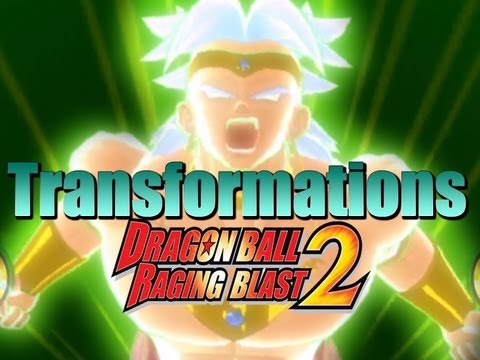 DragonBall Raging Blast 2 All Transformations