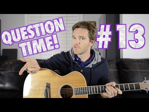 Question Time! Guitar Action, String Gauges, Underrated Guitarists and Black Sabbath