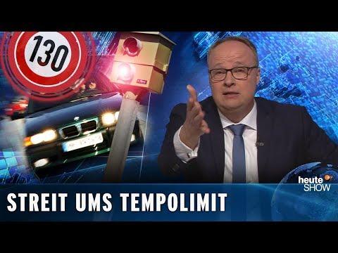 Tempolimit: Kulturkampf gegen das Auto | heute-show vom 01.02.2019