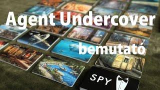 Agent Undercover - társasjáték bemutató